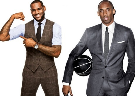 The USA Men's basketball team seems to be sailing through every team. We also happen to appreciate their off the court fashion.    LeBron James & Kobe Bryant*