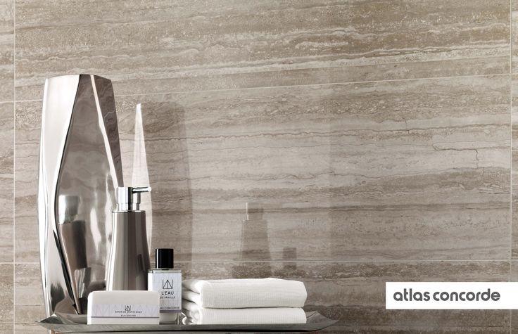 #MARVELPRO travertino silver | #AtlasConcorde | #Tiles | #Ceramic |