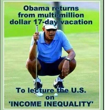 The outrageous cost to taxpayers for the obama's vacation.