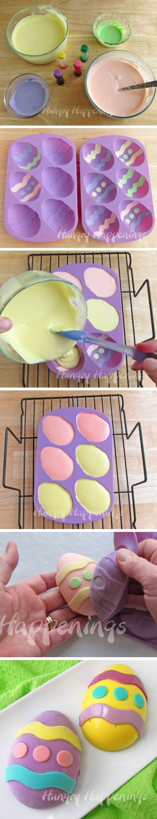 Easter Egg Cheesecake  Recipe By Photo