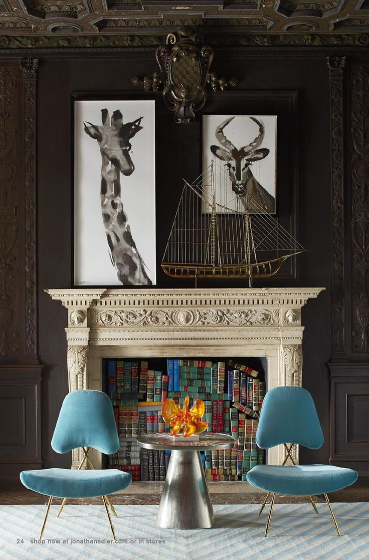 Jonathan Adler | Modern chairs with upholstered chair design and metal chairs legs. Contemporary living room chairs for your modern living room chairs ideas | See more at http://modernchairs.eu