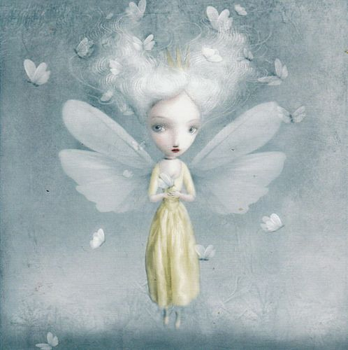 ≍ Nature's Fairy Nymphs ≍ magical elves, sprites, pixies and winged woodland faeries -  Nicoletta Ceccoli