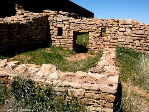 10 of the best free historical sites in America - Old walls at Lowery Pueblo, Colorado