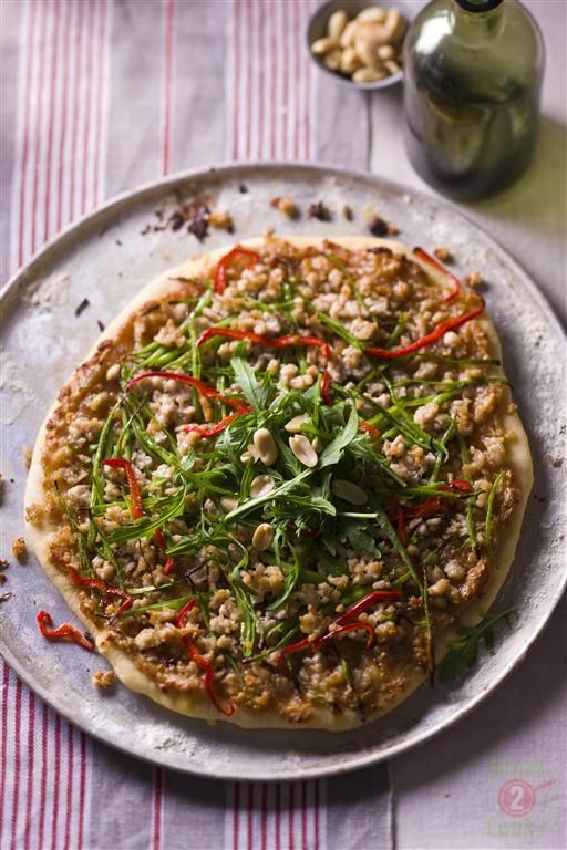 satay chicken pizza foodspotting satay chicken pizza satay chicken ...