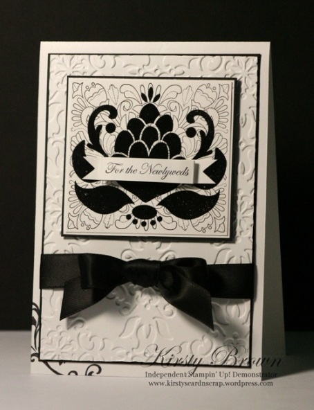Striking use of Ornate Blossom stamp  - thank you Kirsty