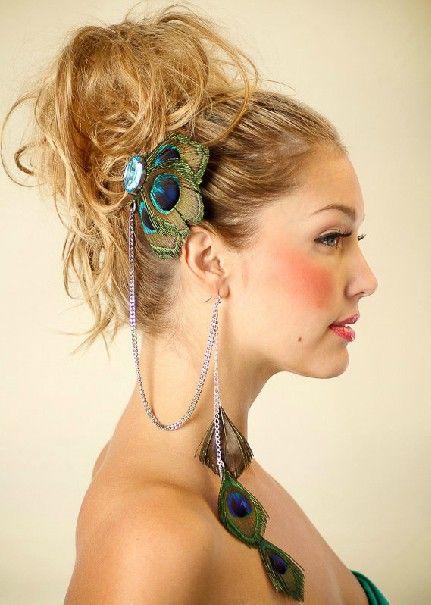 Fashion Tassels Desgin Metal Hairpin