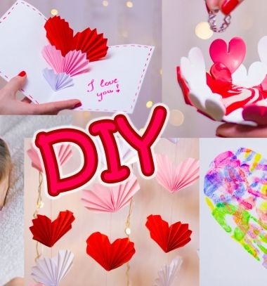 5 Easy DIY Valentine's day gifts and room decor ideas // 5 Egyszerű Valentin napi ajándék és dekorációs ötlet // Mindy - craft tutorial collection
