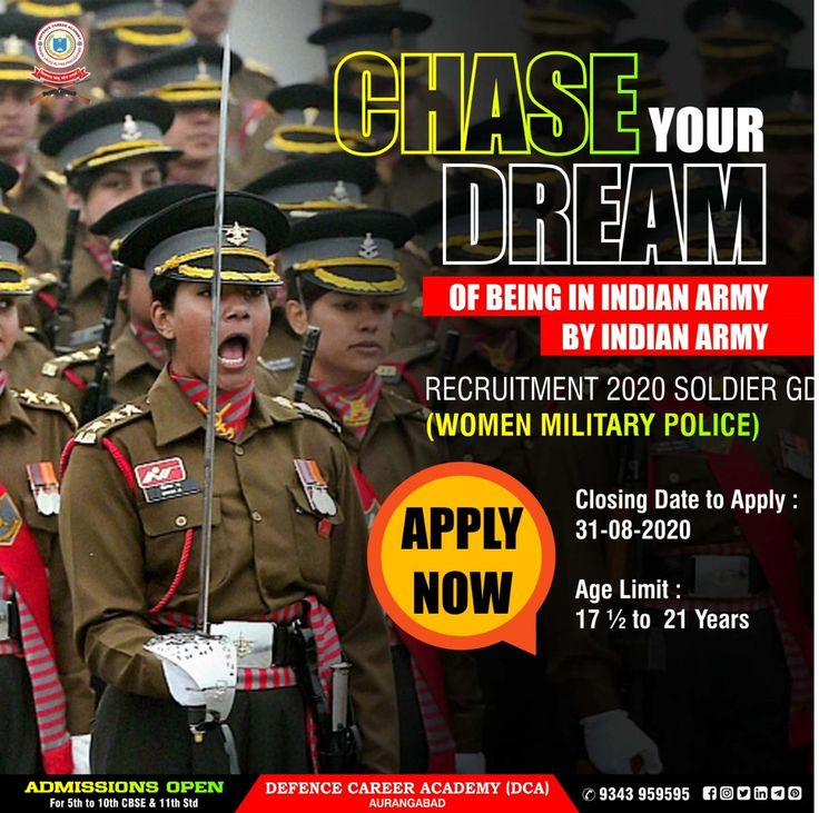 Chase Your Dream Of Being In Indian Army. Army India