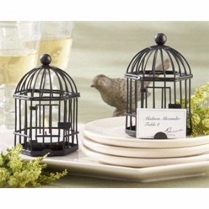 bird cage favors