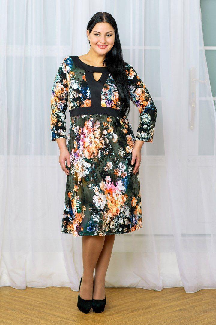 Платья больших размеров 52-64 для полных | ВКонтакте