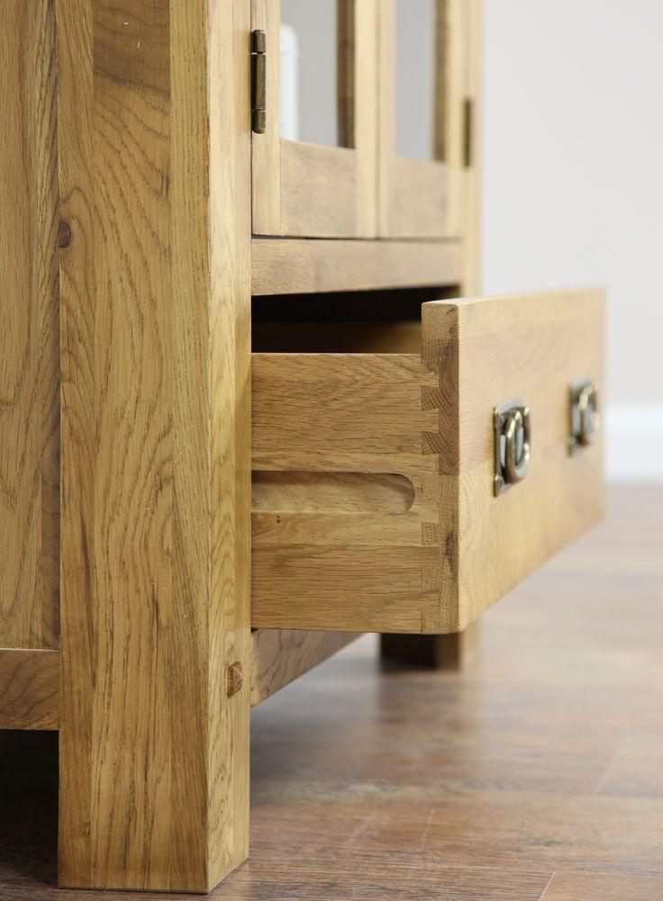 Quercus Solid Oak Furniture Range Cabinet Display Land Www