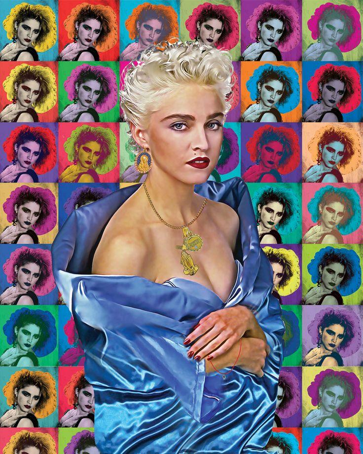 "Madonna ""Star POP"" #madonna #popartist #popart #digitalart #artist #artistsoninstagram #art"