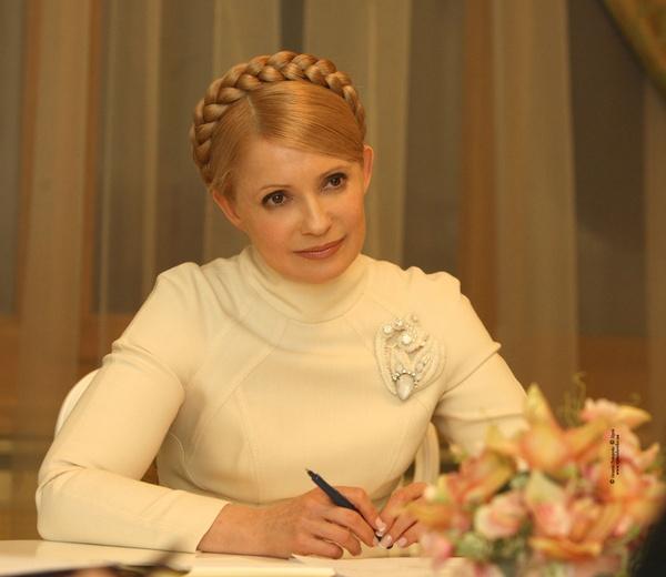 Yulia Tymoshenko... love her style!