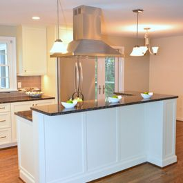 Two level countertop design ideas pictures remodel and for Two level kitchen island