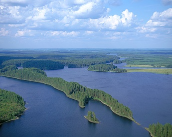 Petkeljärvi National Park in East Finland