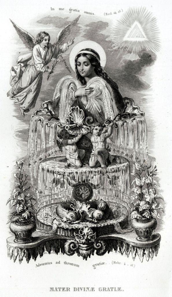 16 Litanie Lauretane SS Vergine Maria Madonna Religione Acciaio Capolavoro 1850 | eBay