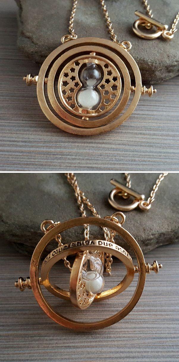 Golden Time Turner Necklace #harrypotter