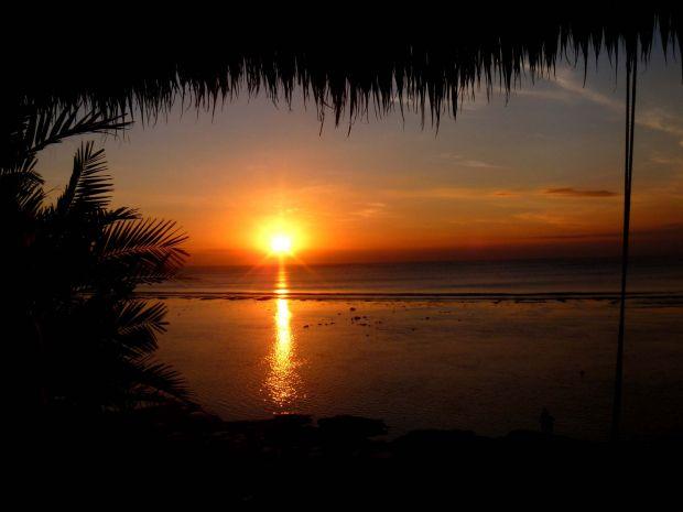 Sunset. Bingin, Bali, Indonesia.