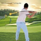 Golf Trainer Swing Rod Aid