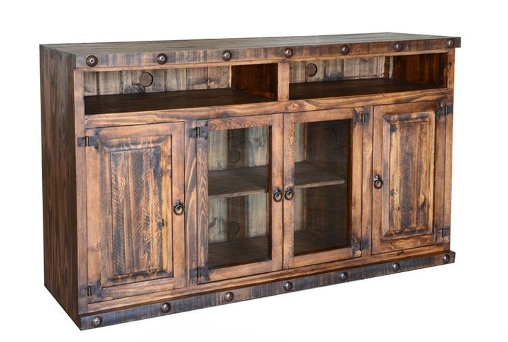 """Old West Rustic 60"""" TV Stand"""