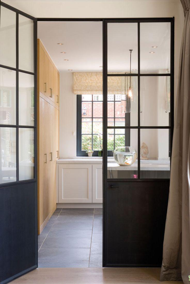 Home Sweet Home - smeedijzeren dubbele deur