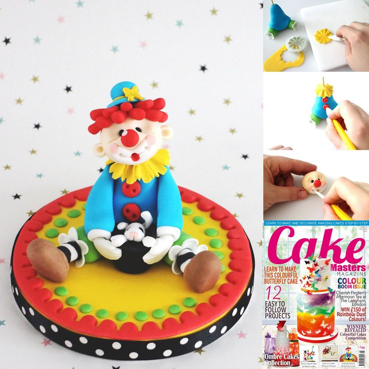 Clown Cake Toppers Uk