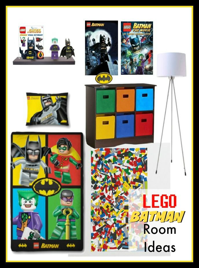 Boys Lego Batman Bedroom Decorating Ideas. I Love The Rug That Looks Like A  Bunch