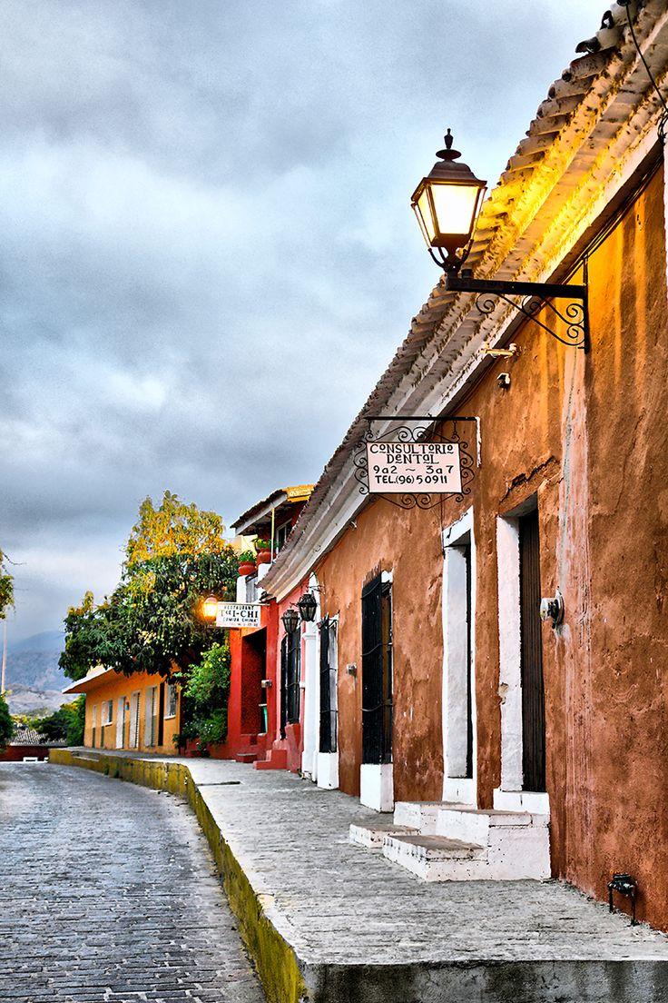 Calles del Pueblo Mágico de Cosala, Mexico