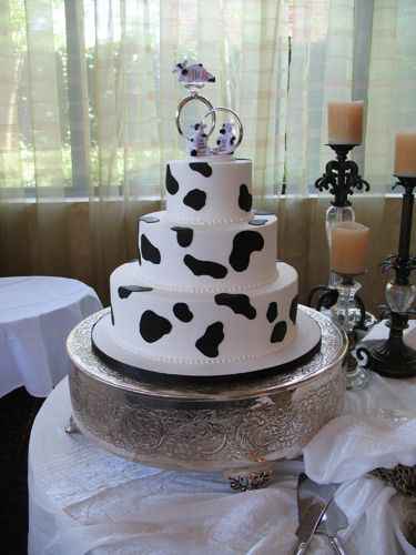 Cow Cake | For Goodness Cakes
