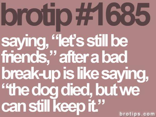 funny relationship break up jokes girlfriend