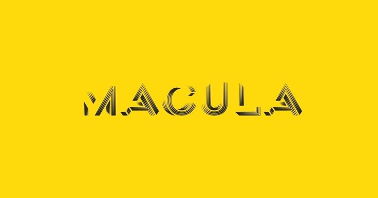 Macula - the impossible typeface. from $63