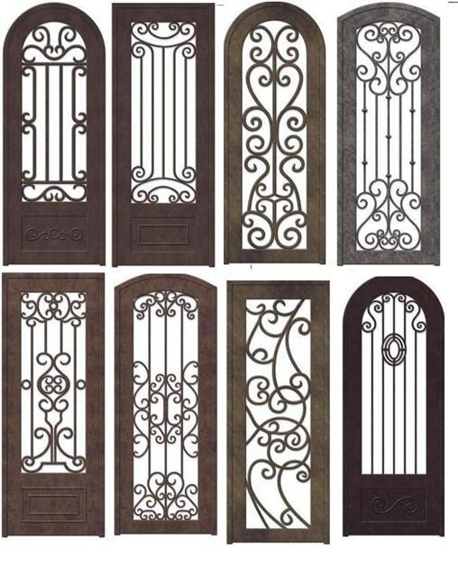 25 best ideas about iron doors on pinterest wrought for Puertas rusticas de herreria