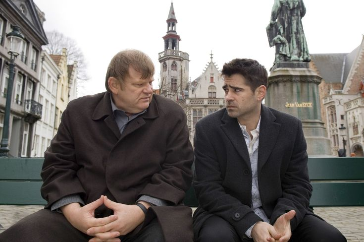 "In Bruges / #film #comedy #noir / Martin McDonagh ""Purgatory's kind of like the in-betweeny one. You weren't really shit, but you weren't all that great either. Like Tottenham.""  www.guardian.co.uk/film/2008/apr/18/drama.thriller"