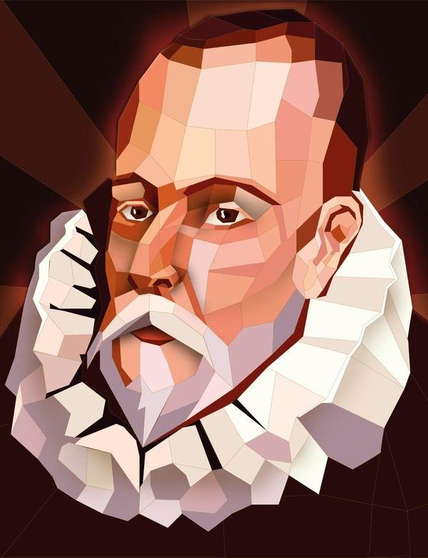 Painting of Miguel de Cervantes
