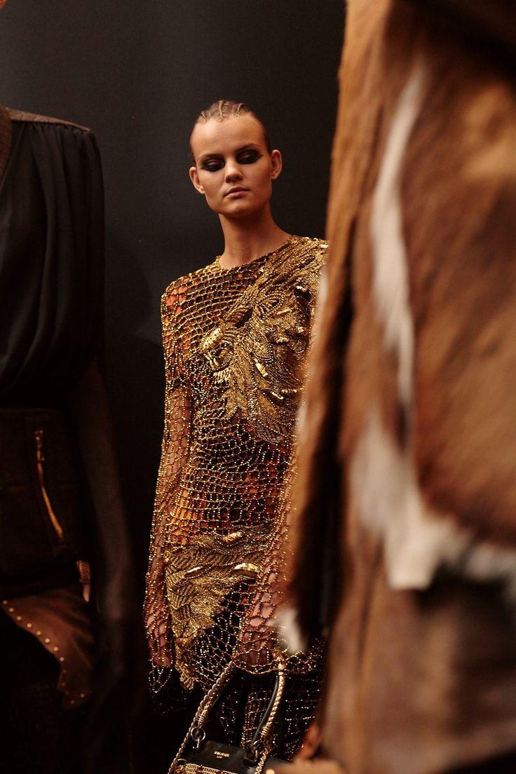 Balmain AW17 womenswear paris dazed