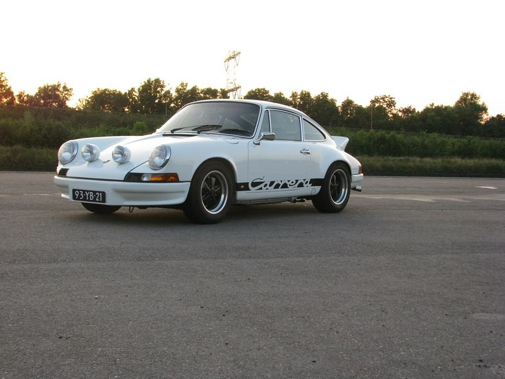 Front- Speed Service Porsche 911 RS (replica)