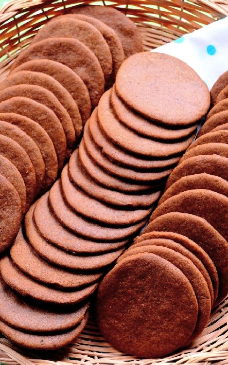 Low FODMAP and Gluten Free Recipes - Ginger thins