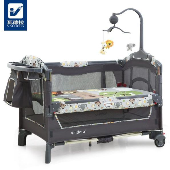 Luxury Pack N Play Toddler Mini Travel Crib Multi Function Folding Game Beds Kids And Mom Shop Baby Cradle Bedding Baby Bed Baby Crib Bedding