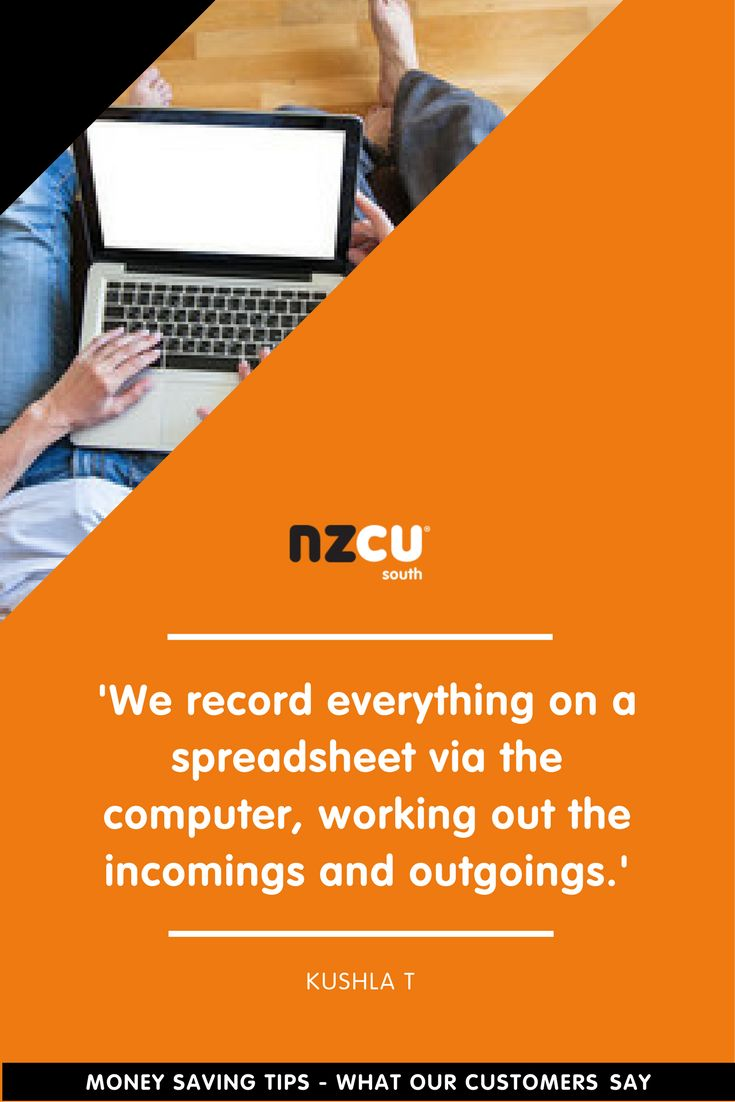 'We record everything on a spreadsheet via the computer, working out the incomings and outgoings.'