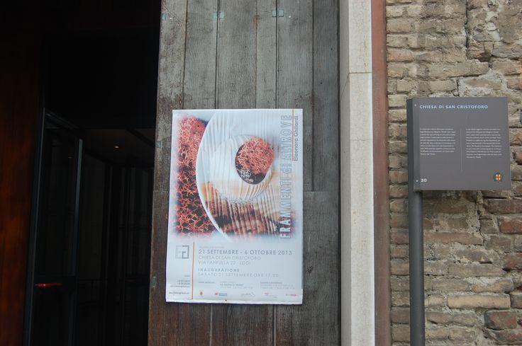 Entrata Chiesa di San Cristoforo - Lodi