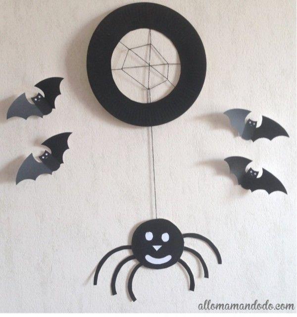 Souvent Les 25 meilleures idées de la catégorie Araignée halloween sur  EU52