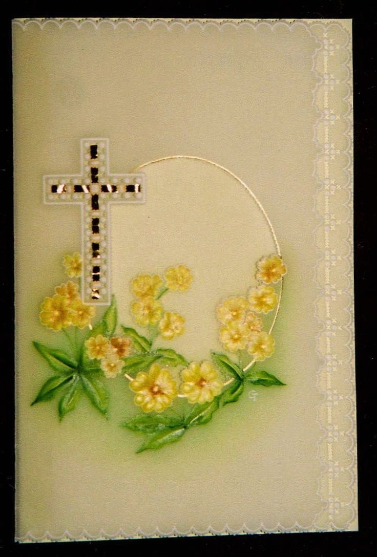 A classic lovely old Pergamano pattern, a sympathy card that I made.