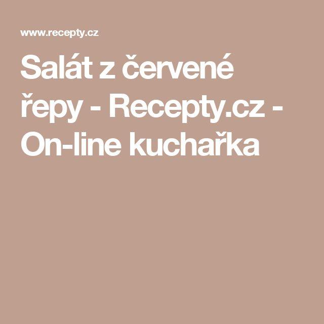 Salát z červené řepy - Recepty.cz - On-line kuchařka