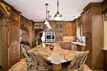 Amsum and Ash has Tiberious granite. Which as amazing movement with all different color tones. Perfect for any kitchen! tuscan kitchen design   tuscan kitchen design nj