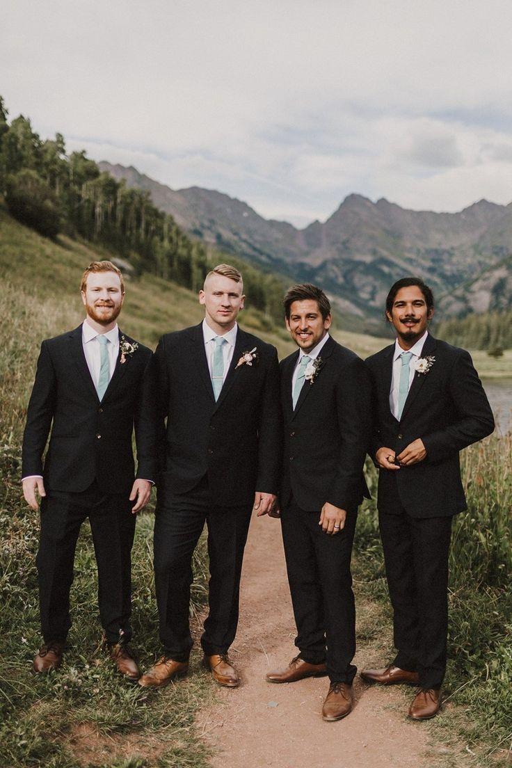 Vintage wedding groom vest - A Boho Vintage Wedding In The Colorado Mountains
