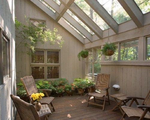 Custom Covered Ideas for Contemporary Sunroom Patio Design - Best ...