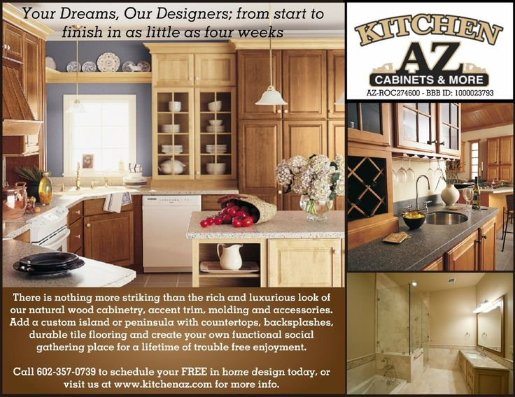Kitchen AZ LLC Brochure, One Of The Top Rated Kitchen And Bath Remodeling  Contractors In