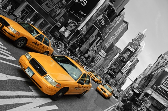 modern canvas - free worldwide shipping - New York Downtown Yellow Cabs, $199.00 (http://www.moderncanvas.com.au/new-york-downtown-yellow-cabs/)
