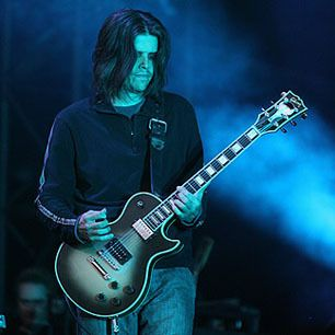 In Tool, Adam Jones combines the tuned-down chug of death metal with ominous atmospherics influenced by Rush and King Crimson.