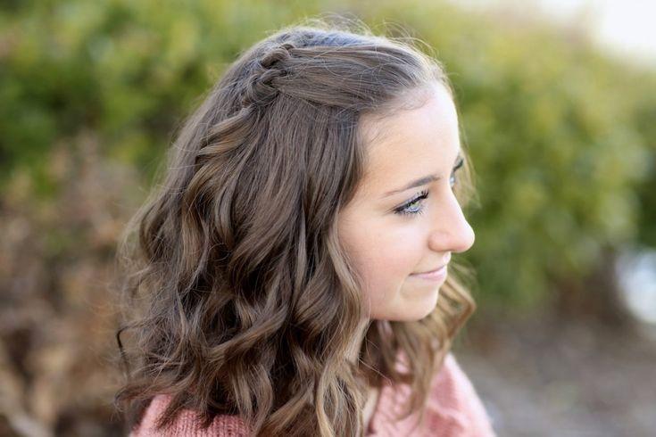 Dreifach Knoten Akzente | Frisuren, Tolle kurze haare ...